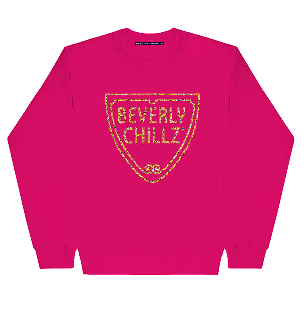 BEVERLY CHILLZ GLITTER SWEATSHIRT