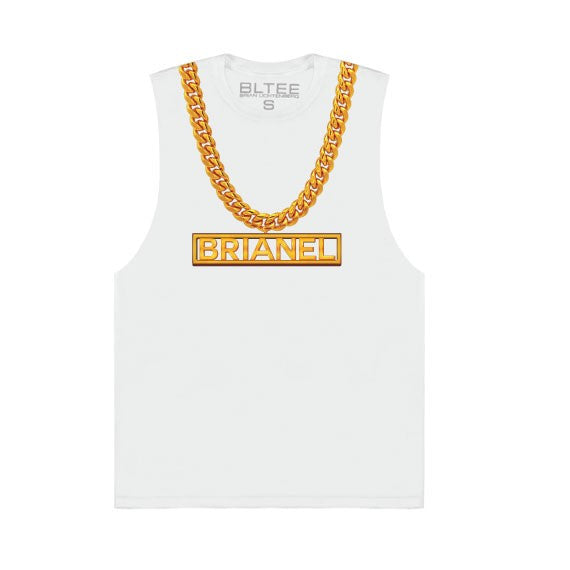 BRIANEL CHAIN MUSCLE TEE