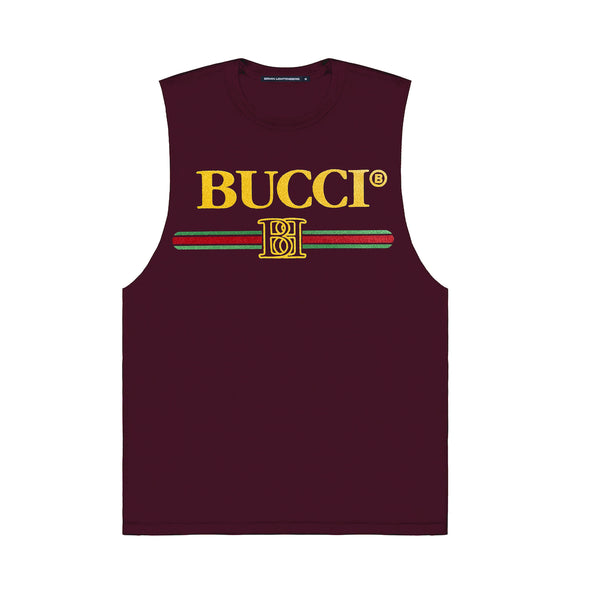 BUCCI FUZZY TOUCH MUSCLE TEE