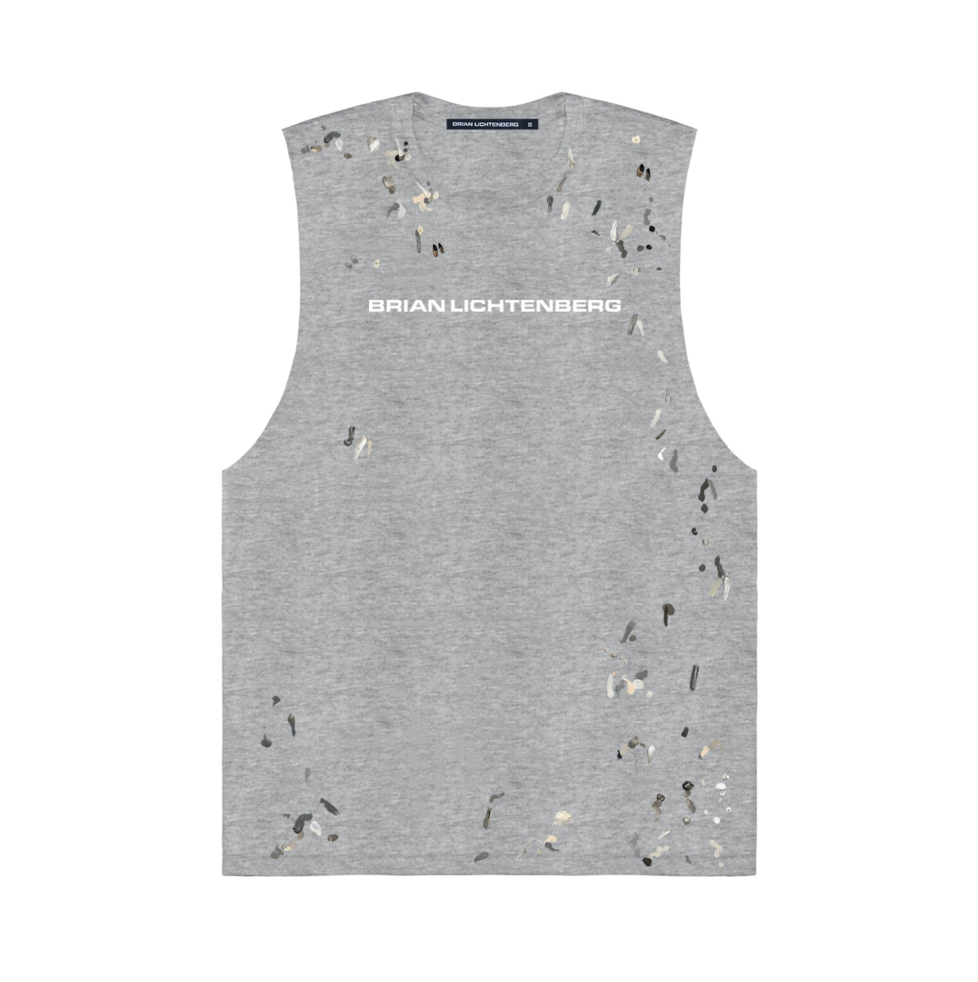 BL PAINT MUSCLE TEE