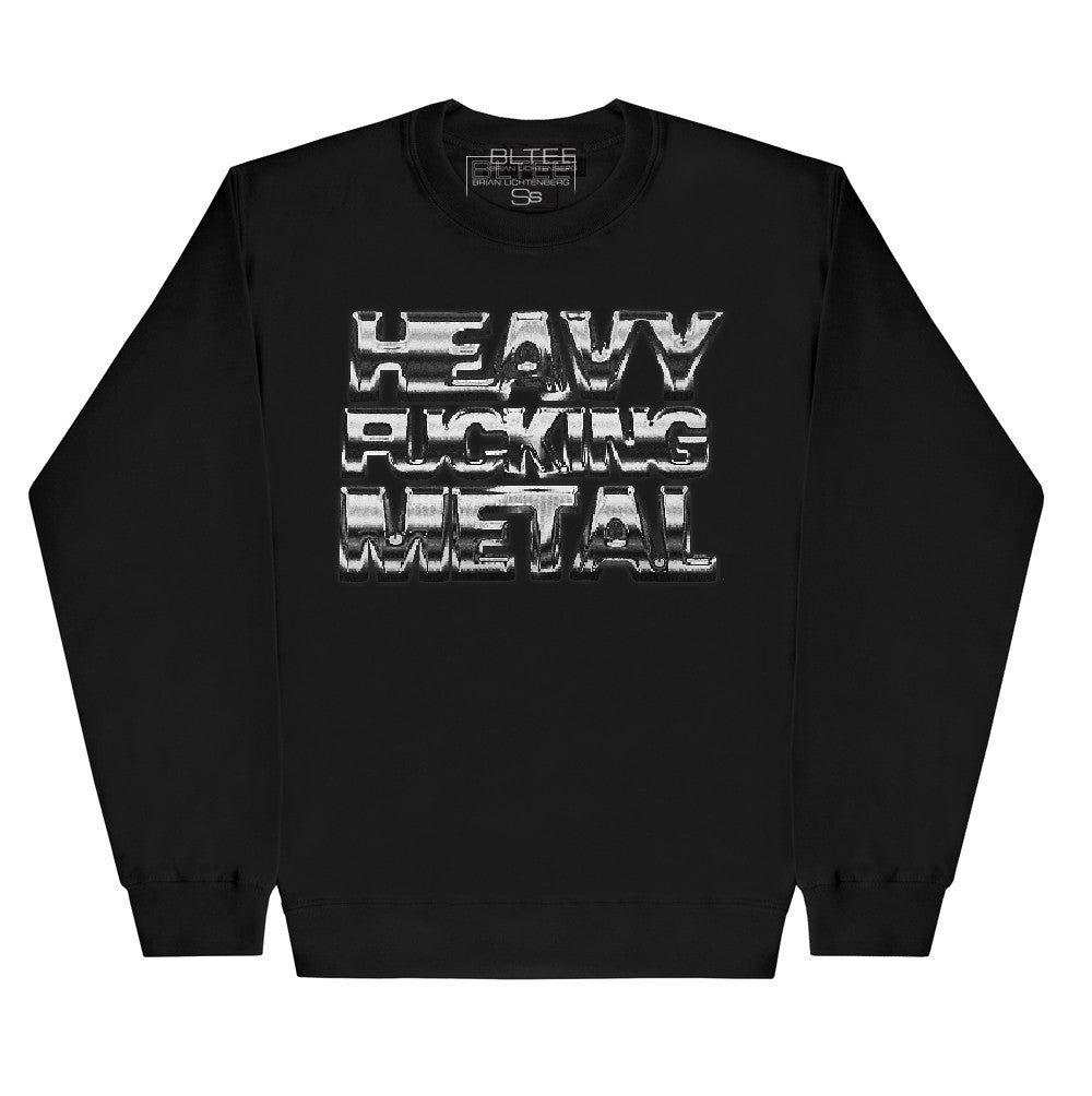 HEACY FUCKING METAL SWEATSHIRT BRIAN GRAPHIC LICHTENBERG