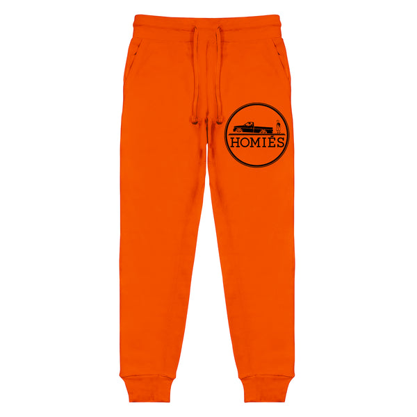 HOMIÉS EMBLEM ORANGE SWEATPANTS