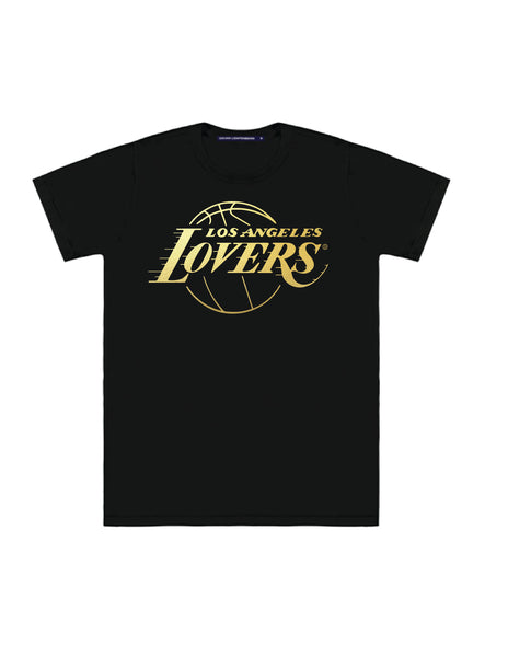 LOVERS GOLD FOIL TEE