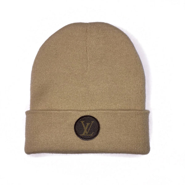 UPCYCLE LV TAN BEANIE