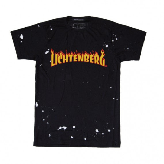 LICHTENBERG FLAMES DESTROYED TEE