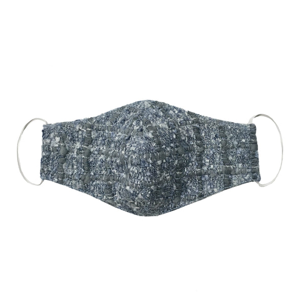 SOFT BLUE TWEED MASK