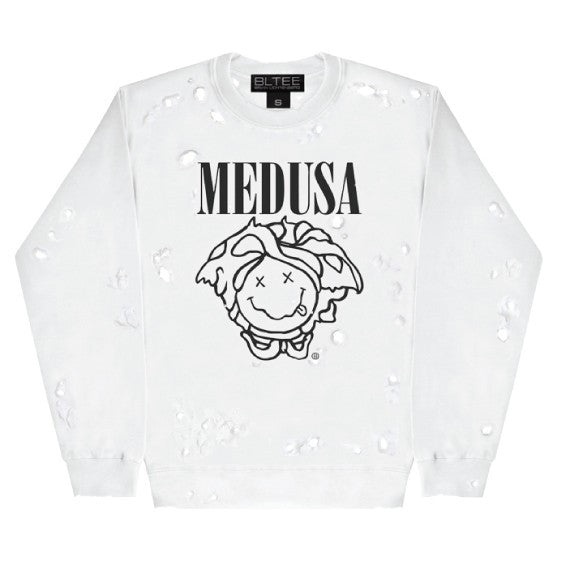 MEDUSA DESTROYED SWEATSHIRT
