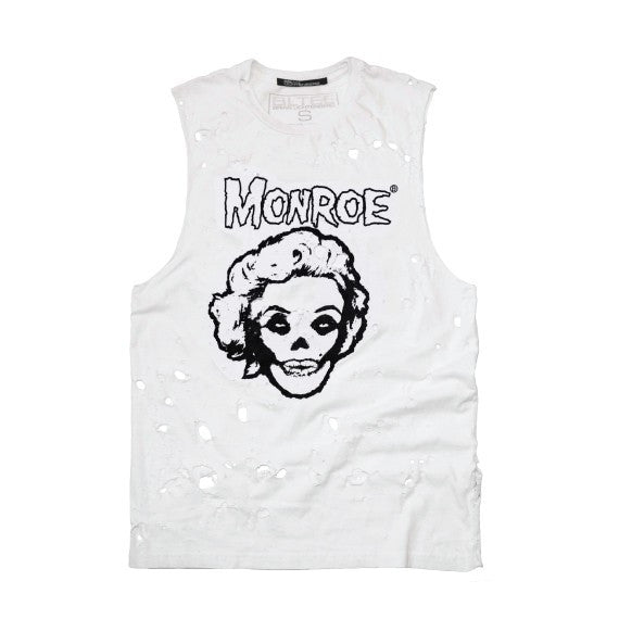 MONROE DESTROYED MUSCLE TEE