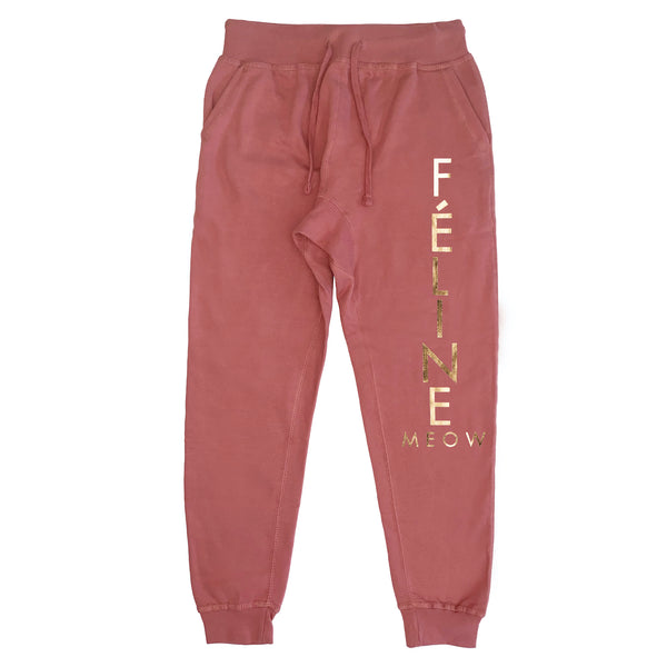 FELINE SWEATPANTS