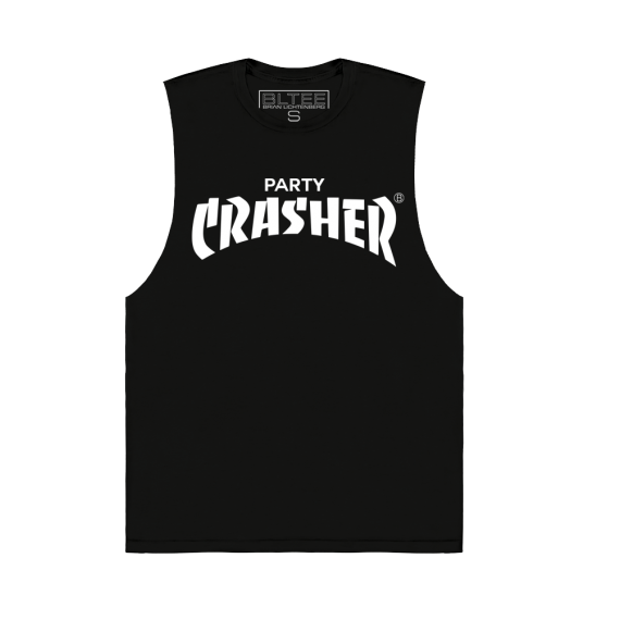 PARTY CRASHER MUSCLE TEE