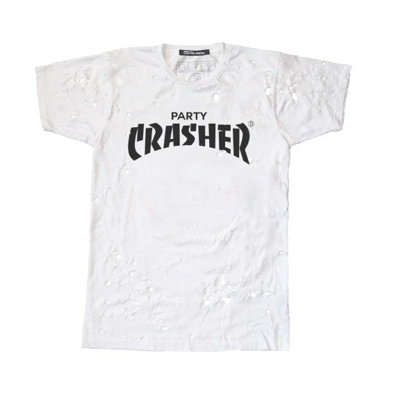 PARTY CRASHER DESTROYED TEE