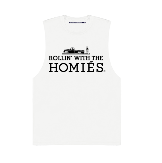ROLLIN' WITH THE HOMIÉS MUSCLE TEE