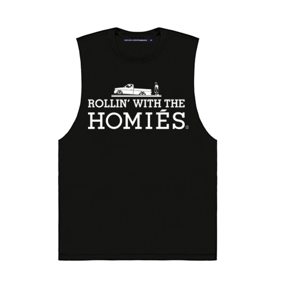 KIDS ROLLIN' WITH THE HOMIÉS MUSCLE TEE