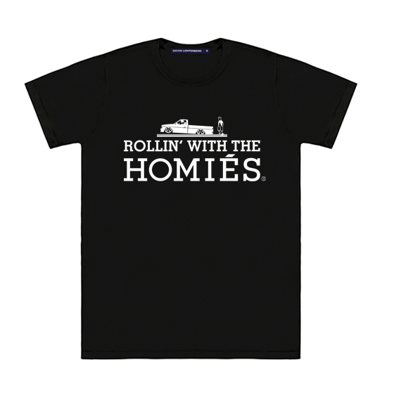 ROLLIN' WITH THE HOMIÉS TEE