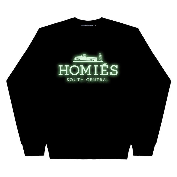 HOMIÉS GLOW-IN-THE-DARK SWEATSHIRT