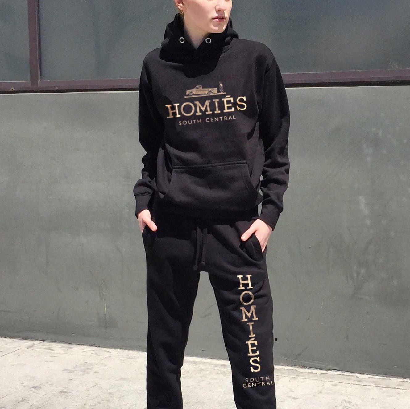 HOMIÉS GOLD FOIL SWEAT SUIT