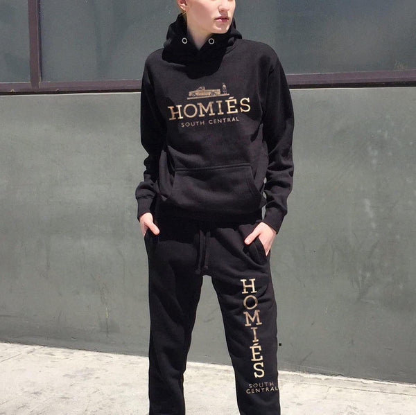 HOMIES GOLD FOIL SWEAT SUIT