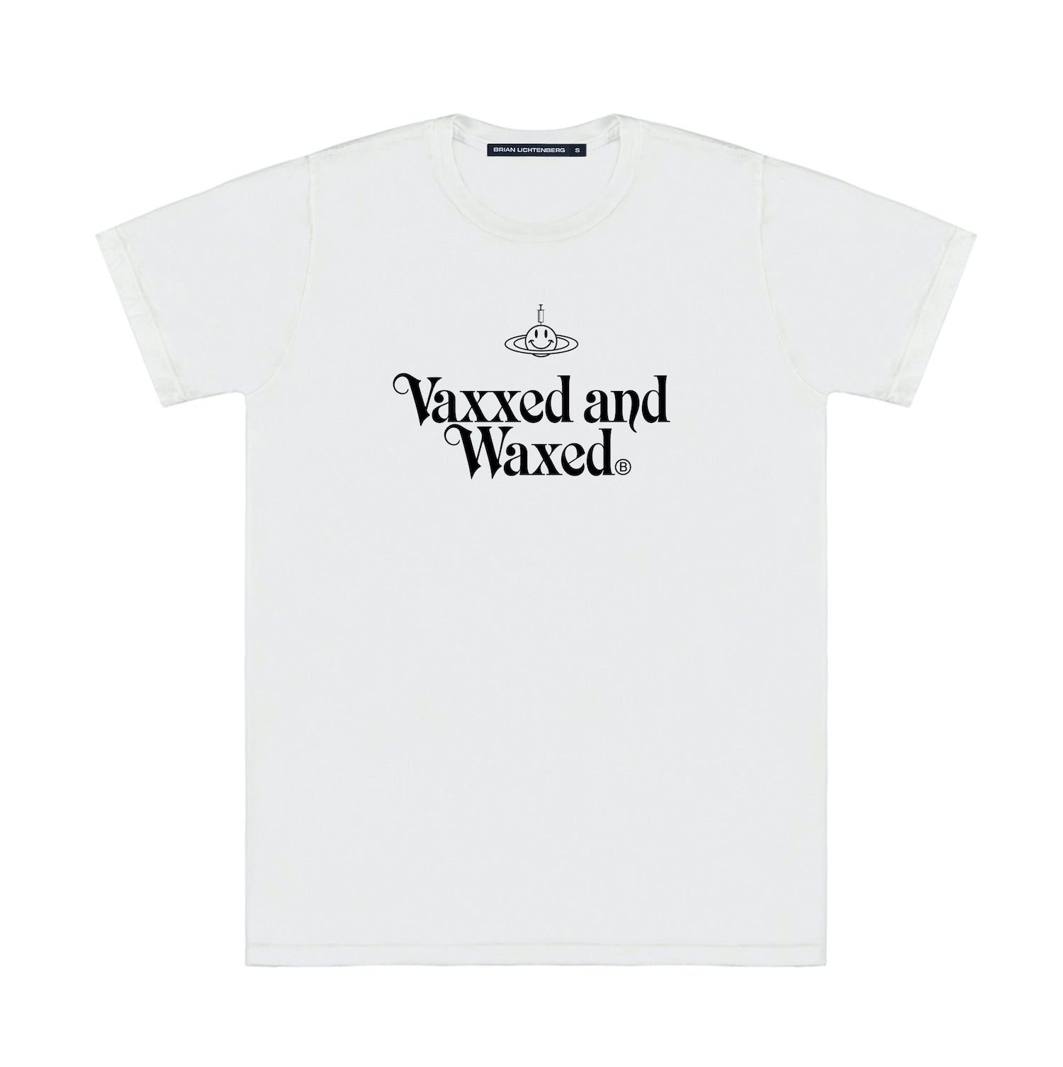 VAXXED AND WAXED TEE