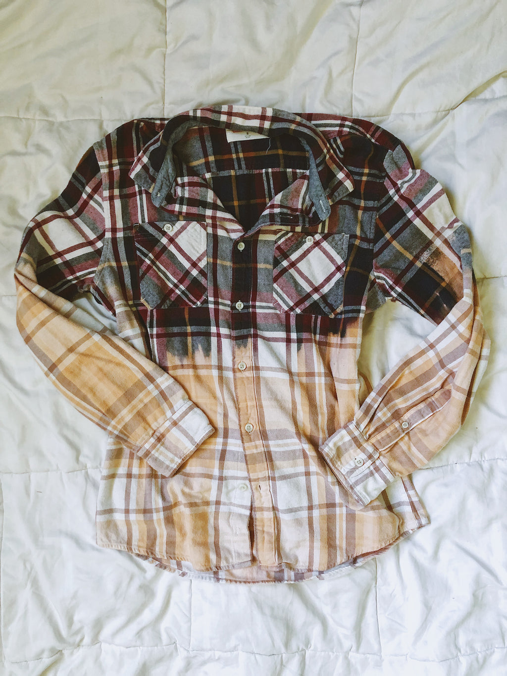 BL/Y Dip-Dyed Flannel