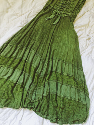 Green Fairy Dress