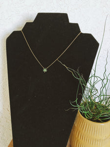 Cannabis Dainty Necklace