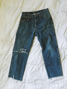 Vintage Distressed Denim