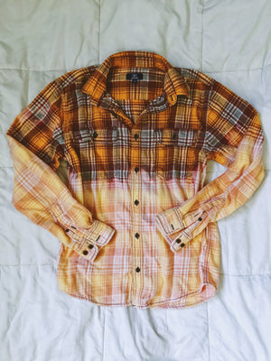 OR/BR Dip-Dyed Flannel