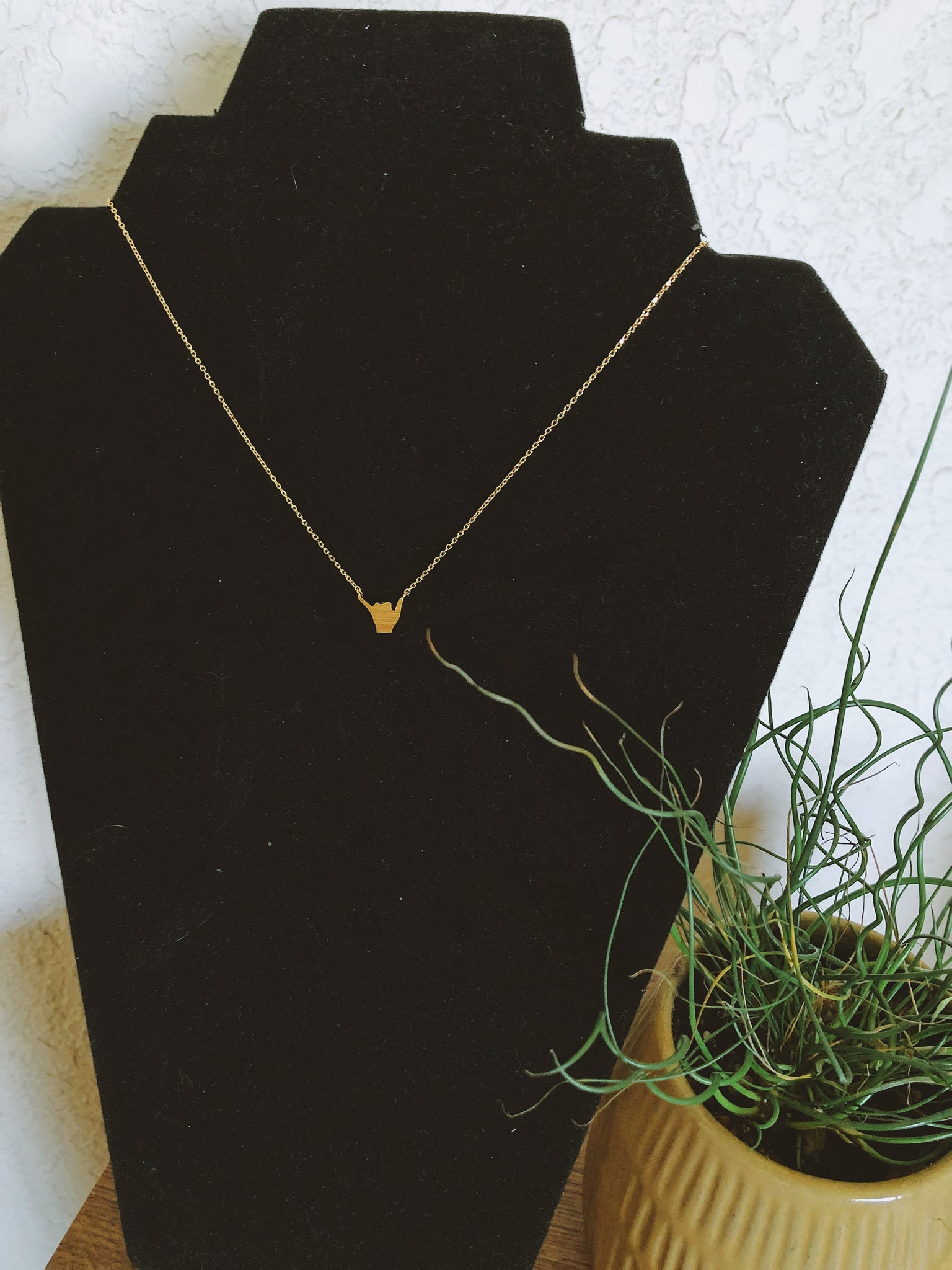 Shaka Dainty Necklace