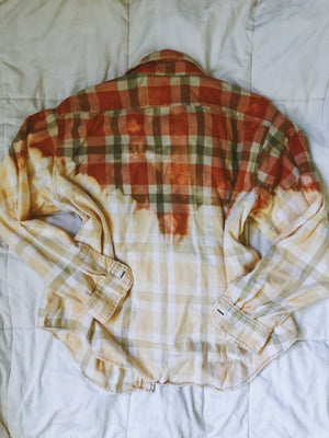 O/W Dip-Dyed Flannel