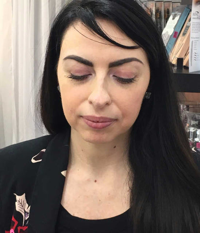 After picture of eyebrows done using Billion Dollar Brows.
