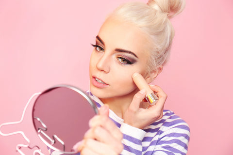 Woman Applying Makeup | Beauty Products