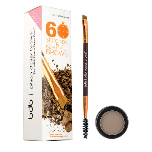 60 Seconds To Beautiful Brows Kit Billion Dollar Brows
