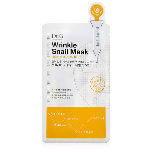 Dr. G Wrinkle Snail Mask - Single