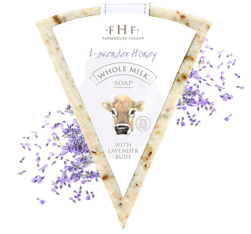 Farmhouse Fresh Lavender Honey Whole Milk Soap 4.5oz Bar
