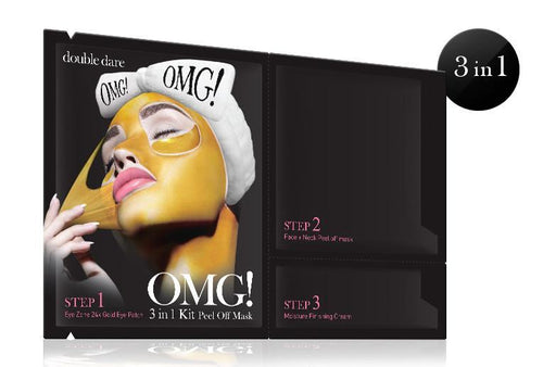 Double Dare OMG! 3IN1 KIT Peel Off Mask