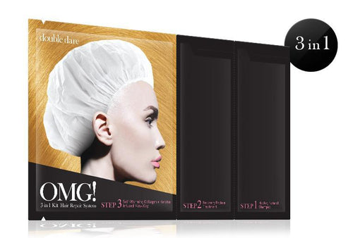 Double Dare OMG! 3IN1 KIT Hair Repair System Mask