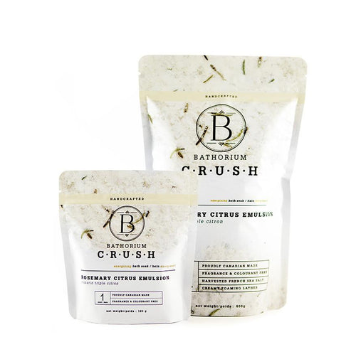 Bathorium CRUSH | Bath and Skin Care Products