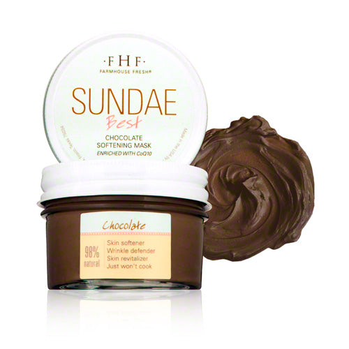 Farmhouse Fresh Sundae Best - Chocolate Softening Face Mask 3.25oz