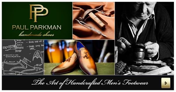 The Luxury of Men's Footwear