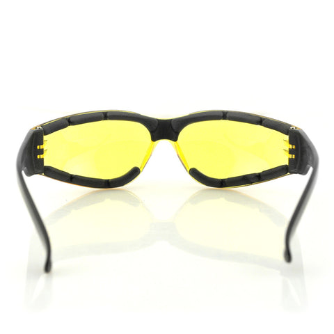 Shield III Frameless Construction High-Velocity Impact Protection Sunglasses - The Big Boy Store