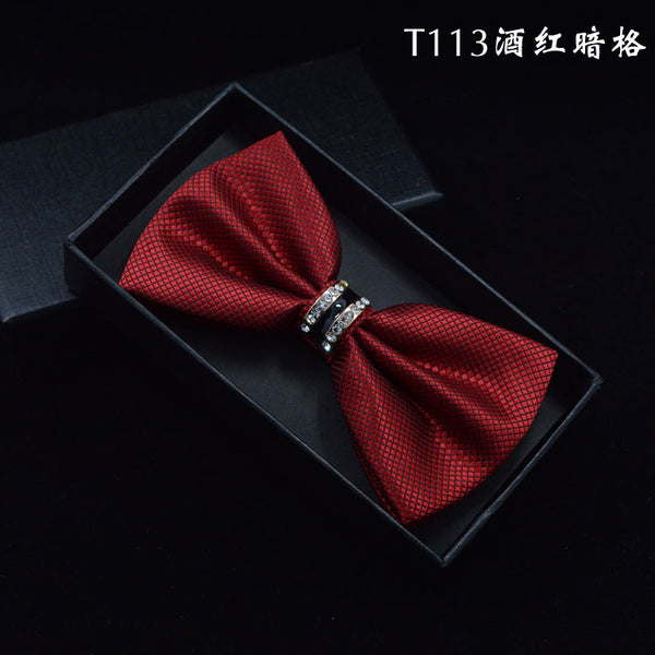 2016 NEW Fashion Men and Women Polyester Cravat Adult Bow Tie Neckwear Solid Necktie Party or Wedding Female Bowties Papillon - The Big Boy Store