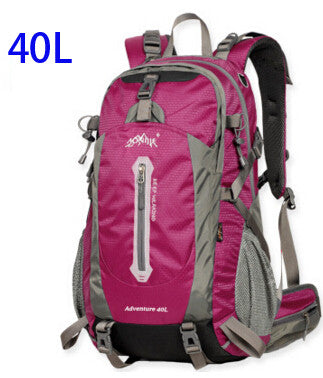 AONIJIE Outdoor Sport Travel Backpack Mountain Climbing Backpack 40L 50L Packsack Off Red Color