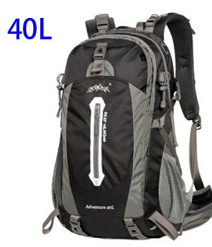 AONIJIE Outdoor Sport Travel Backpack Mountain Climbing Backpack 40L 50L Packsack Black Color