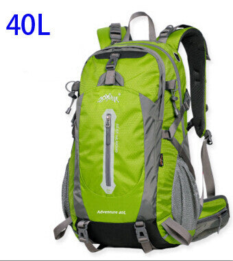 AONIJIE Outdoor Sport Travel Backpack Mountain Climbing Backpack 40L 50L Packsack Lime Color