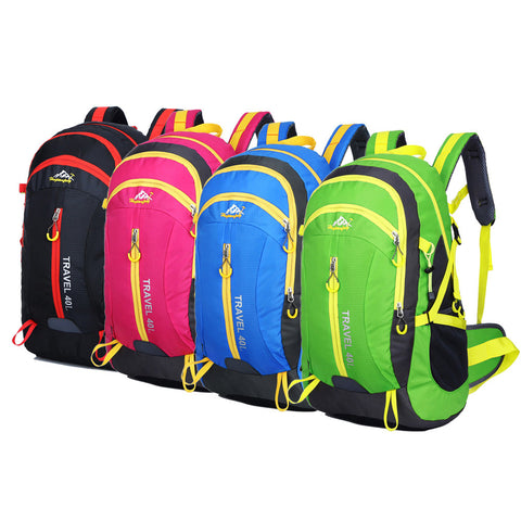 High Quality Nylon Waterproof Hiking Backpack Outdoor Sports Bag