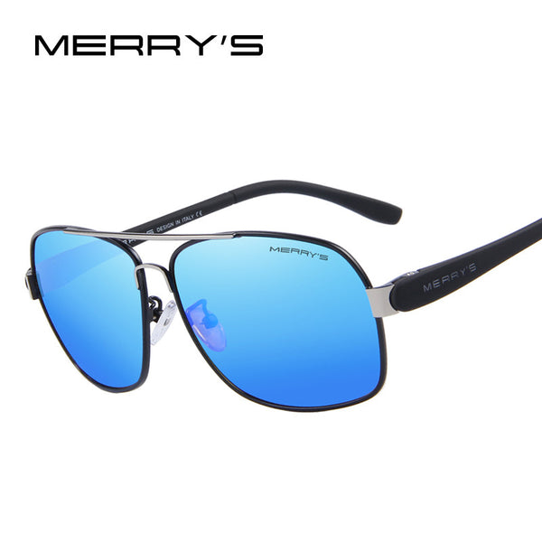 MERRY'S Men's TR90 Fashion Sunglasses Polarized Color Mirror Lens Eyewear Accessories Driving Sun Glasses S'8501 - The Big Boy Store