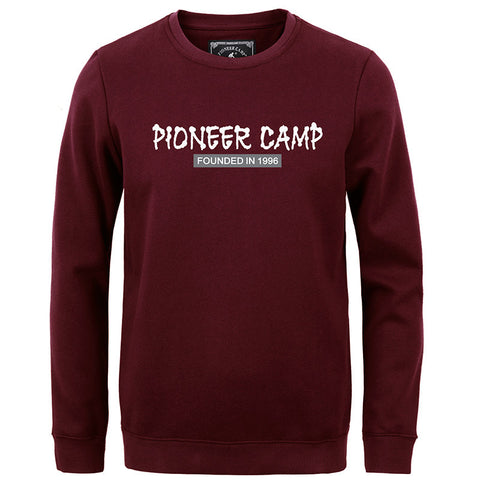 Pioneer Camp new 2016 autumn Winter fashion men sweatshirt casual 100%cotton thicken fleece - The Big Boy Store
