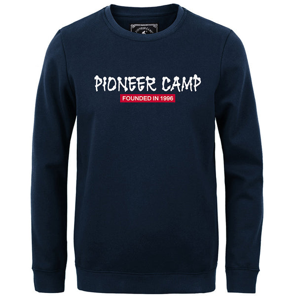 Pioneer Camp 2016 fashion fleece thicken 100%cotton brand clothing casual  shark men sweatshirt - The Big Boy Store