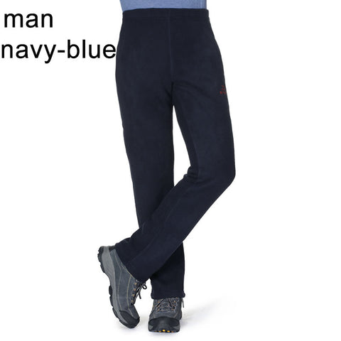 TFO Band Men Hiking pants women Fleece Camping Warm woman polartec Pants Fleece Sports Windproof Fishing Outdoor Pants 7721401 - The Big Boy Store