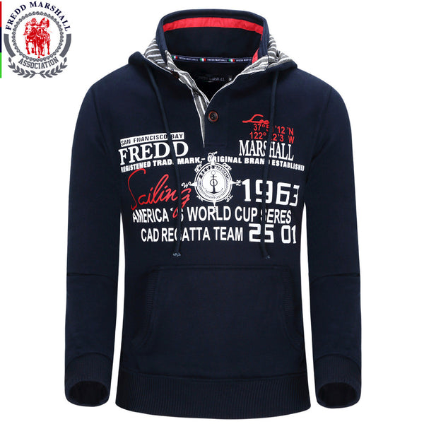 Men's Hoodie Winter Fashion Hooded Sweatshirt Good Print Letter  Fredd Mashall - The Big Boy Store